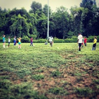 Photo taken at Conteh Soccer Academy Summer Camp by Sarah N. on 7/31/2013