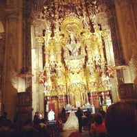 Photo taken at Iglesia del Salvador by Gonzalo M. on 10/13/2012