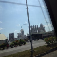 Photo taken at Petronas Onshore Gas Terminal (OGT) by Najiha A. on 3/11/2017