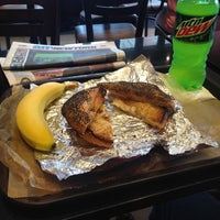 Photo taken at 14th Street Pizza Bagel Cafe by Mike C. on 6/25/2014