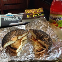 Photo taken at 14th Street Pizza Bagel Cafe by Mike C. on 7/8/2014