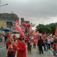 Photo taken at Parada de Ônibus Pedro Taques by Carmem B. on 12/16/2015