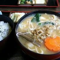 Photo taken at おっきりこみのふる里 by jingudai on 1/7/2017