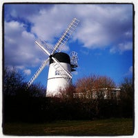 Photo taken at Waterhall Windmill (Patcham Windmill) by Kat G. on 4/6/2013