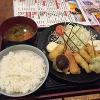 Photo taken at 串かつ でんがな 本厚木ミロードイースト店 by ストンストン 河. on 9/19/2016
