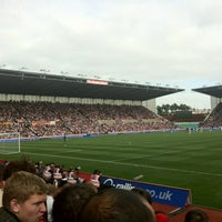 Photo taken at Bet365 Stadium by Nash M. on 9/15/2012
