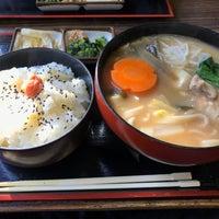 Photo taken at おっきりこみのふる里 by ぼんきち on 1/7/2017