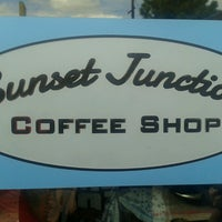 Photo taken at Sunset Junction Coffee Shop by Lorenzo J. on 3/6/2013