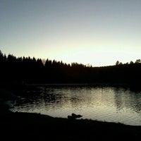 Photo taken at Sognsvann by Renata M. on 10/27/2012