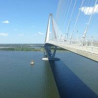 Photo taken at Arthur Ravenel Jr. Bridge by Buffie L. on 5/14/2013