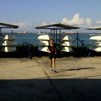 Photo taken at MOE Changi Coast Adventure Centre by Lala A. on 7/7/2013