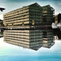 Photo taken at Canal de l'Ourcq by Assaf D. on 6/14/2013
