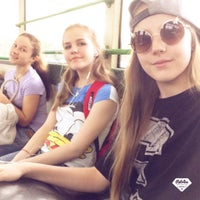 Photo taken at Автобус 710 by Полина С. on 5/21/2015