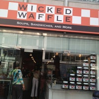 Photo taken at Wicked Waffle by Kasfia A. on 4/9/2013