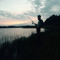 Photo taken at Меревское озеро by Анна М. on 8/26/2015