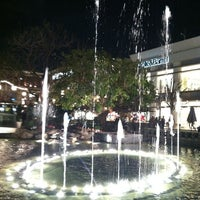 Photo taken at The Grove Water Fountain by Kathy N. on 2/10/2013