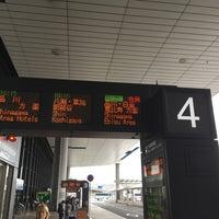 Photo taken at 第1ターミナル 5番バスのりば by Raymond D. on 4/17/2016