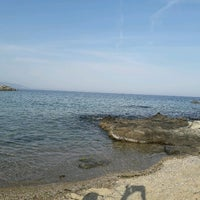 Photo taken at Palio Tsifliki Beach by Mirena K. on 5/1/2017