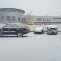 Photo taken at Hall Automotive Certified Body & Paint Shop by Jennifer-Leigh W. on 1/28/2013