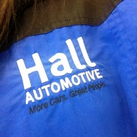 Photo taken at Hall Automotive Certified Body & Paint Shop by Jennifer-Leigh W. on 12/28/2012