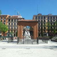 Photo taken at Plaza del Dos de Mayo by Jordi S. on 5/4/2013