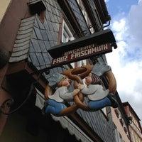 Photo taken at Bäckerei Fritz Frischmuth by Moritz R. on 4/13/2013