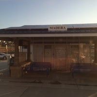 Photo taken at Madera Station Amtrak by Manuel C. on 4/6/2014