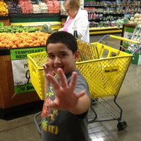 Photo taken at Food 4 Less by Manuel C. on 6/30/2013