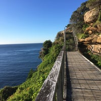 Photo taken at Vaucluse Cliff Walk by Mike B. on 10/4/2016