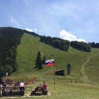 Photo taken at Chata na Grúni by Iveta P. on 6/29/2014