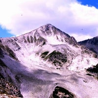 Photo taken at вр. Полежан, 2851м / Polezhan Peak, 9353ft by Iva F. on 8/25/2013