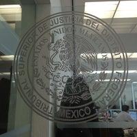 Photo taken at Tribunal Superior de Justicia de la Ciudad de México - Juzgados de lo Familiar by Mercedes B. on 9/12/2013