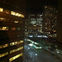 Photo taken at Toronto Marriott Downtown Eaton Centre Hotel by Michael V. on 4/5/2013