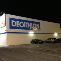 Photo taken at Decathlon by Xavi T. on 12/15/2012