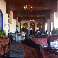 Photo taken at La Valencia Hotel by La W. on 4/11/2013
