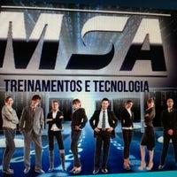 Photo taken at MSA Treinamentos e Tecnologia by Juliano M. on 2/20/2013