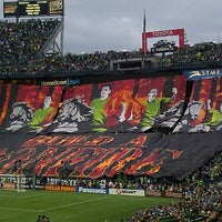Photo taken at CenturyLink Field by Richard B. on 8/26/2013
