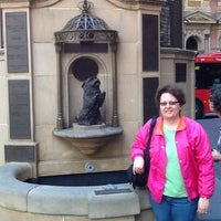 Photo taken at QVB Wishing Well by Larry Z. on 11/26/2013