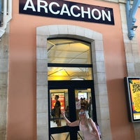 Photo taken at Gare SNCF d'Arcachon by Turhan N. on 6/26/2017