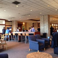 Photo taken at Delta Sky Club by Gigliola L. on 10/25/2013