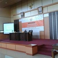 Photo taken at Auditorium BPK RI Pwk Prov. Jambi by Ndy N. on 10/31/2012