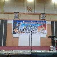 Photo taken at Auditorium BPK RI Pwk Prov. Jambi by Ndy N. on 1/14/2013