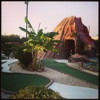 Photo taken at Fantasy Mini Golf by Spiros Pantos M. on 8/12/2013