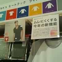 Photo taken at ユニクロ アピタタウン金沢ベイ店 by Daidai55 on 12/8/2012