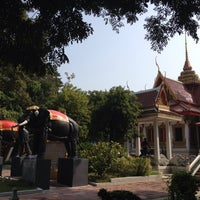 Photo taken at Don Chedi Temple by Kanthanat A. on 10/15/2014