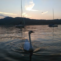 Photo taken at Steinbach am Attersee by Tuba H. on 9/9/2016