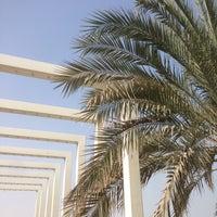 Photo taken at Al Zeina Beach by Tijana R. on 9/9/2016