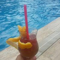 Photo taken at Katya Hotel Swiming Pool by Elif K. on 7/21/2016