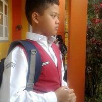 Photo taken at SMPN 43 Bandung by 'Ipung H. on 7/12/2014