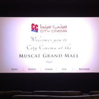Photo taken at City Cinema by Mahir on 2/24/2013